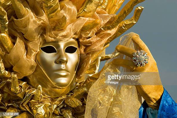 venice masquerader - beautiful transvestite stock photos and pictures