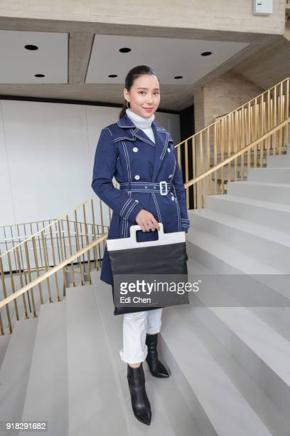 Venice Min attends the Michael Kors Collection Fall 2018 Runway Show at the Vivian Beaumont Theatre on February 14 2018 in New York City