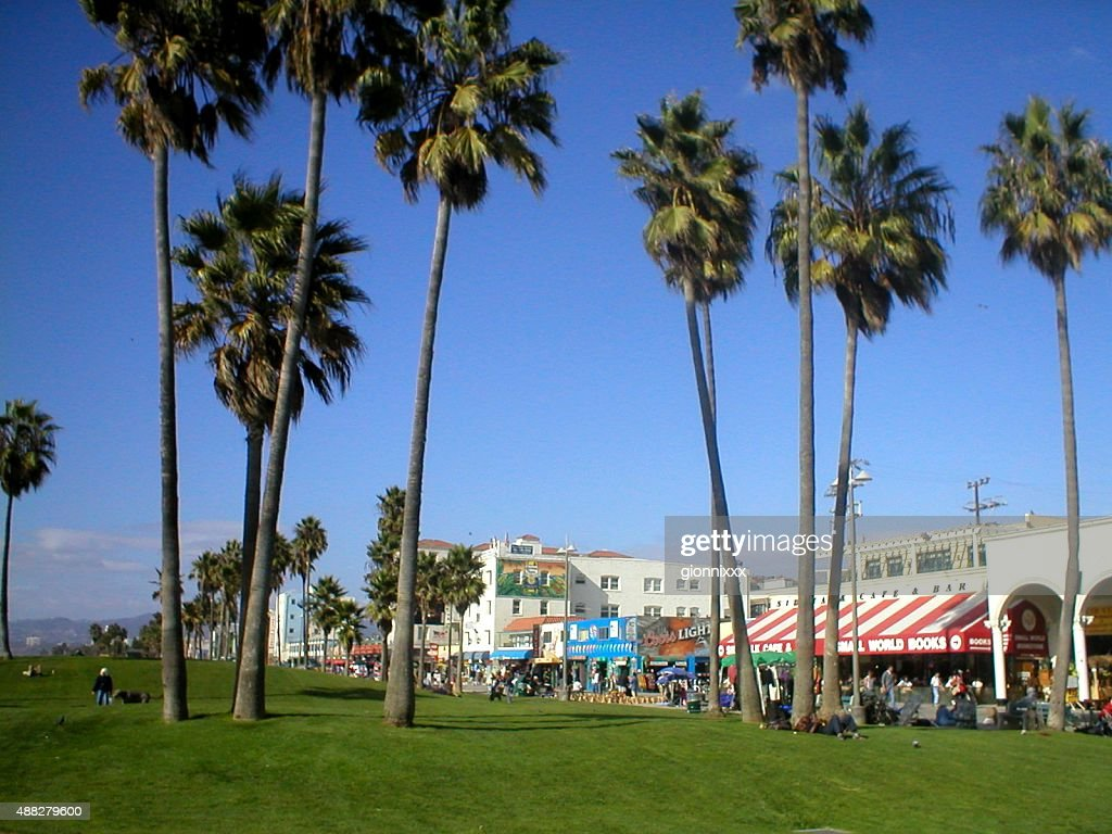 Venice ocean front walk, Los Angeles, California : Stock Photo