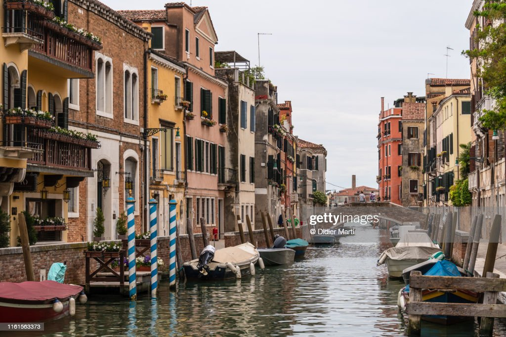 Venice old town in Italy : Stock Photo