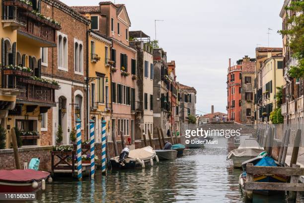 venice old town in italy - didier marti stock photos and pictures
