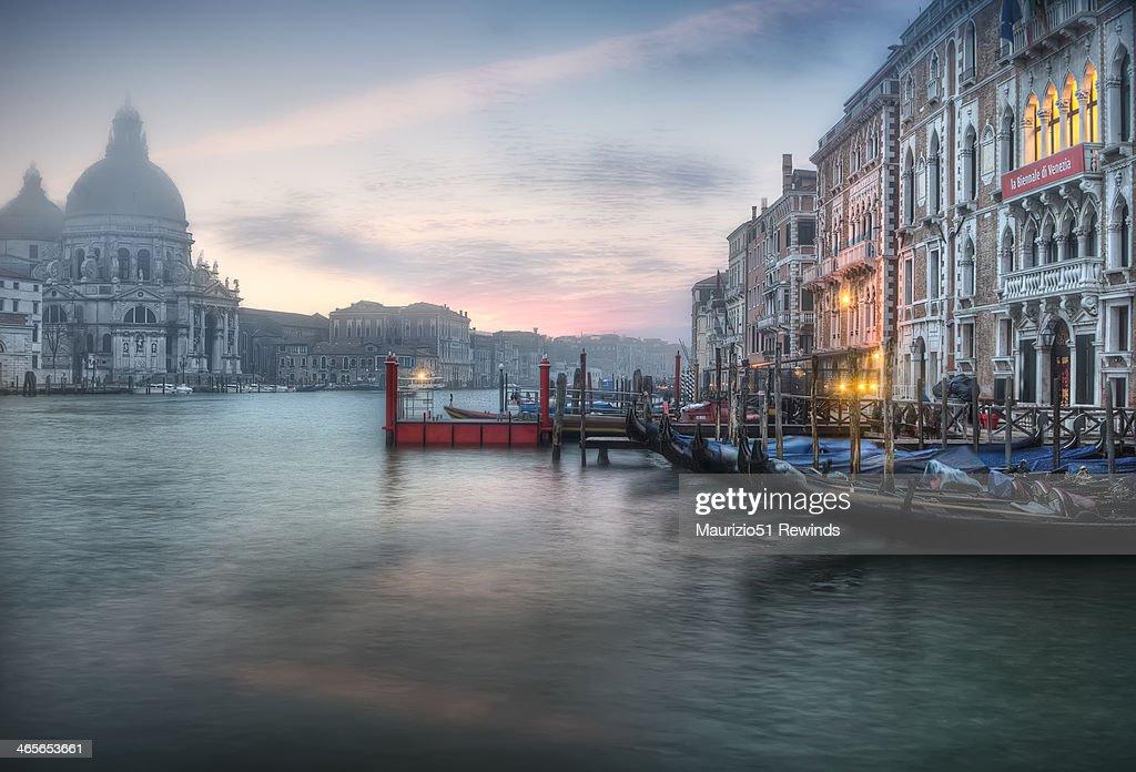 Venice On the fog : Stock Photo