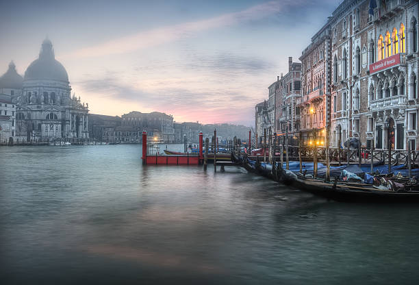 Venice On the fog