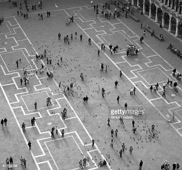 venice  piazza san marco - simon crockett stock pictures, royalty-free photos & images