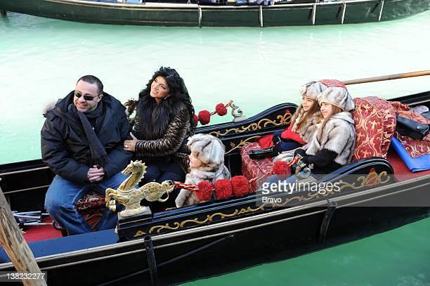 JERSEY Venice Pictured Joe Giudice Teresa Giudice Gabriella Giudice Gia Giudice Milania Giudic