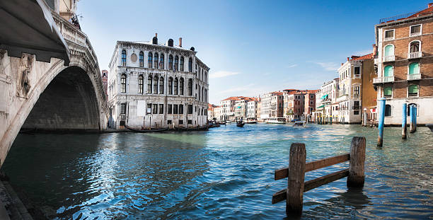 Venice: Rialto Bridge And Grand Canal Wall Art