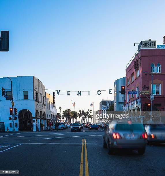 Venice sign, Santa Monica, California, USA