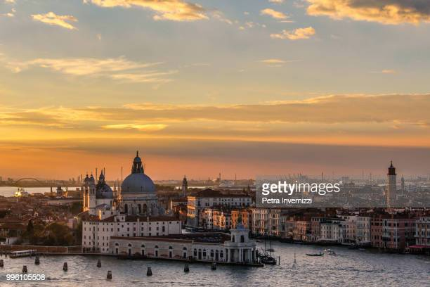 a venice sunset - petra invernizzi stock pictures, royalty-free photos & images