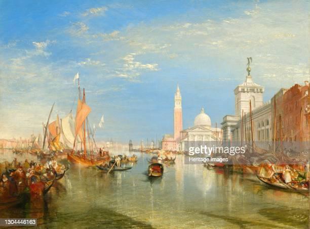 The Dogana and San Giorgio Maggiore, 1834. Artist JMW Turner.
