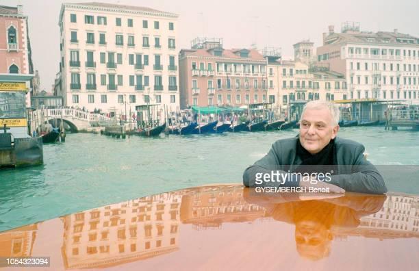 Venise Italie octobre 2004 Voyage à Venise pour l'écrivain Philippe SOLLERS à l'occasion de la sortie de son 'Dictionnaire amoureux de Venise' aux...