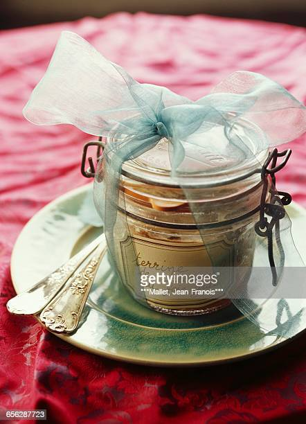 venison and foie gras terrine - gras fotografías e imágenes de stock