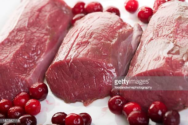 carne de cervo - carne de cervo - fotografias e filmes do acervo