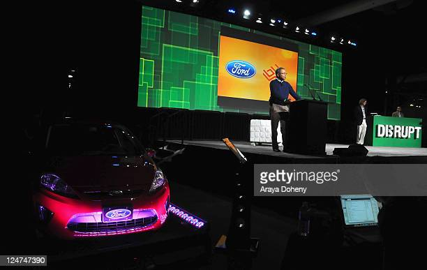 Venkatesh Prasad speaks onstage during Day 1 of TechCrunch Disrupt SF 2011 held at the San Francisco Design Center Concourse on September 12 2011 in...