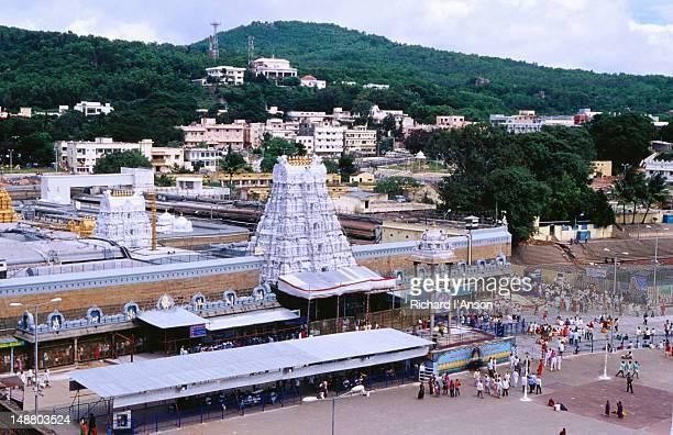 venkateshwara temple. - アンドラプラデシュ州 ストックフォトと画像