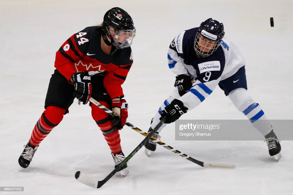 Semifinals1 - 2017 IIHF Women's World Championship
