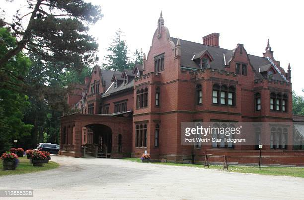 Ventfort Hall was built in 1893 by JP Morgan's sister Sarah and her husband in Lenox Massachussetts