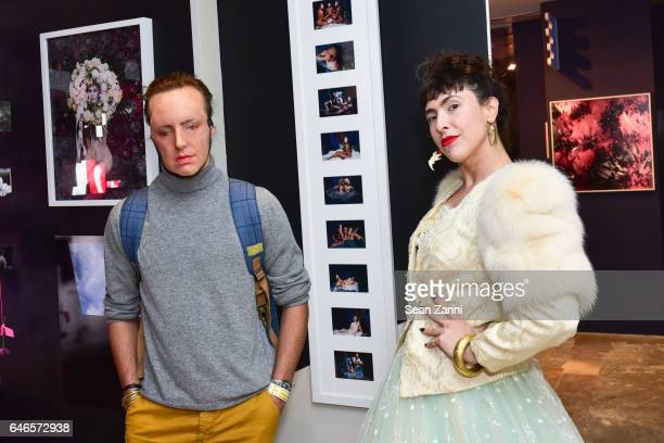 Ventiko and Ventiko attend Spring Break Art Fair 2017 Vernissage at 4 Times Square on February 28 2017 in New York City