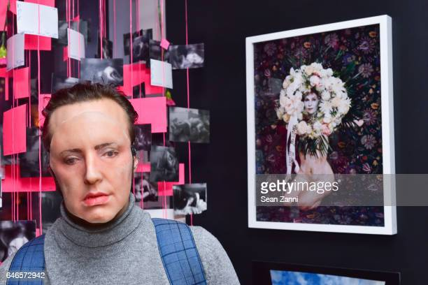 Ventiko attends Spring Break Art Fair 2017 Vernissage at 4 Times Square on February 28 2017 in New York City