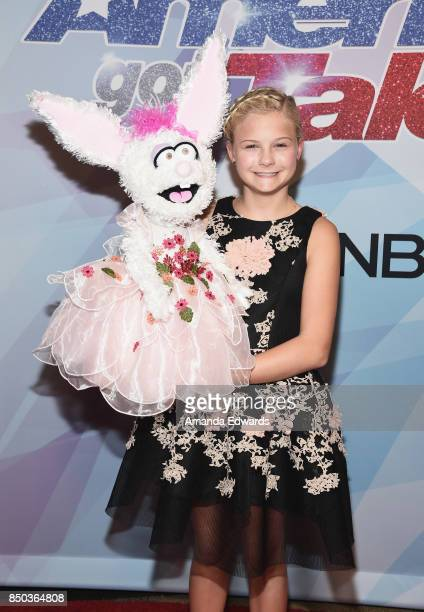 Ventriloquist and winner Darci Lynne attends NBC's America's Got Talent Season 12 Finale at the Dolby Theatre on September 20 2017 in Hollywood...
