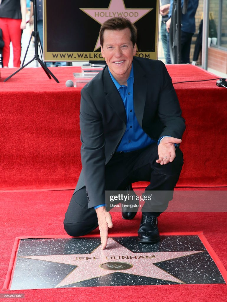 Ventriloquist Jeff Dunham attends his being honored with a Star on the Hollywood Walk of Fame on September 21, 2017 in Hollywood, California.