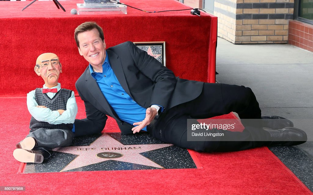 Jeff Dunham Honored With Star On The Hollywood Walk Of Fame