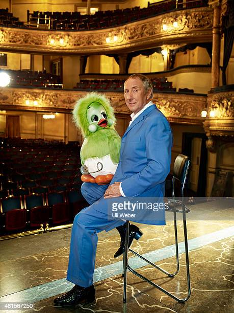 Ventriloquist Keith Harris is photographed with Orville for Tatler on April 5 2013 in London England