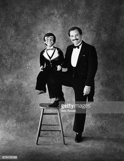 ventriloquist steve kay - ventriloquist stock photos and pictures