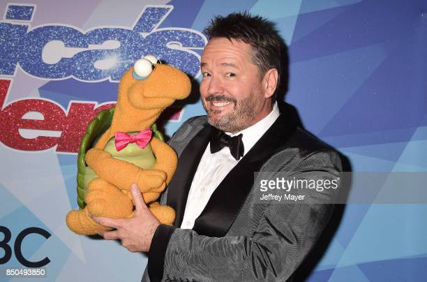 Ventriloquist Terry Fator attends NBC's 'America's Got Talent' Season 12 Finale at the Dolby Theatre on September 20 2017 in Hollywood California