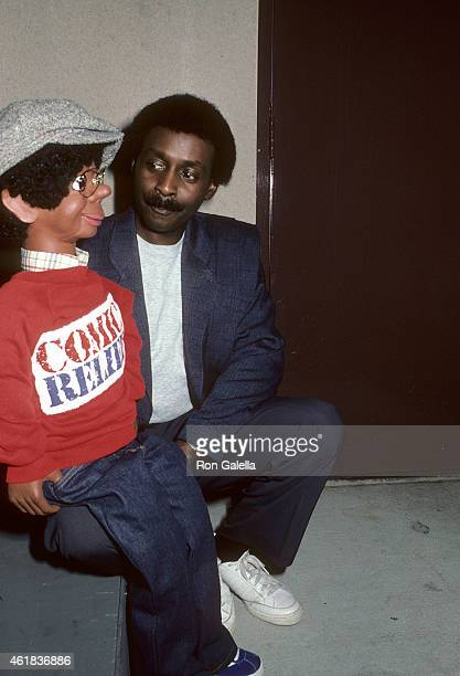 Ventriloquist Willie Tyler and dummy Lester attend the HBO's Television Special Comic Relief to Benefit America's Homeless on March 29 1986 at...