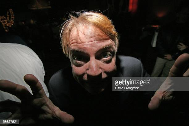 Ventriloquist/comedian Jay Johnson attends the afterparty following the celebrity opening night of his Broadwaybound show Jay Johnson The Two and...