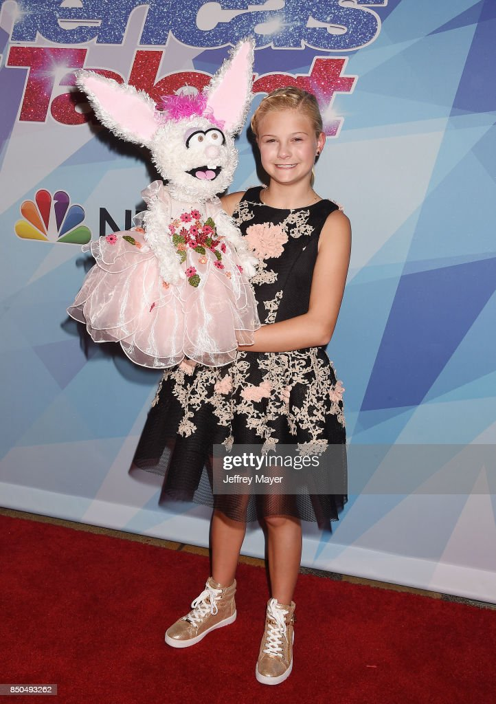 Ventriloquist-singer Darci Lynne Farmer attends NBC's 'America's Got Talent' Season 12 Finale at the Dolby Theatre on September 20, 2017 in Hollywood, California.