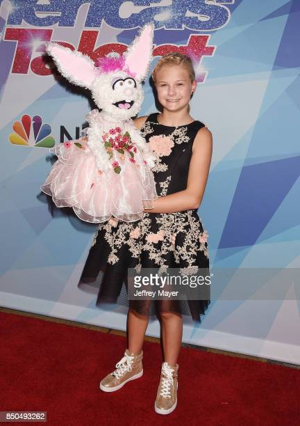 Ventriloquist-singer Darci Lynne Farmer attends NBC's 'America's Got Talent' Season 12 Finale at the Dolby Theatre on September 20, 2017 in...
