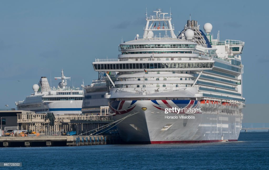 Cruise Ships Bring Thousands Of Tourists To Portugal Pictures - Lisbon cruise ship port