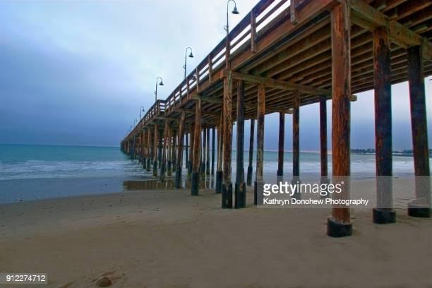 ventura beach pier - ベンチュラ市 ストックフォトと画像