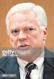 Ventura County District Attorney Michael Bradbury testifies during evidentiary hearing in superior court Thursday morning. The hearing was part of...