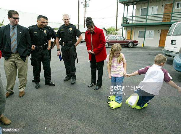 Ventura Police officers delivered toys to children who live with their parents in hotels on Thompson Blvd. Wednesday morning. They will deliver more...