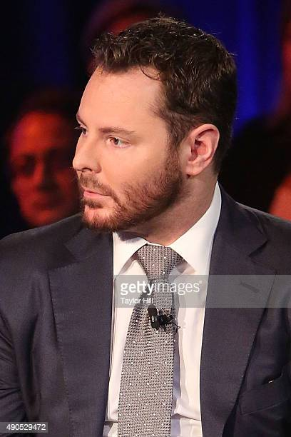 Venture capitalist Sean Parker speaks during the 2015 Clinton Global Initiative Annual Meeting at Sheraton Times Square on September 29 2015 in New...