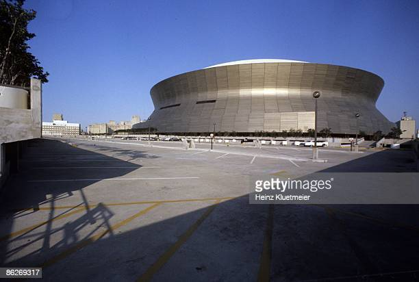 Exterior view of Louisiana Superdome New Orleans LA 2/1/19762/28/1976 CREDIT Heinz Kluetmeier