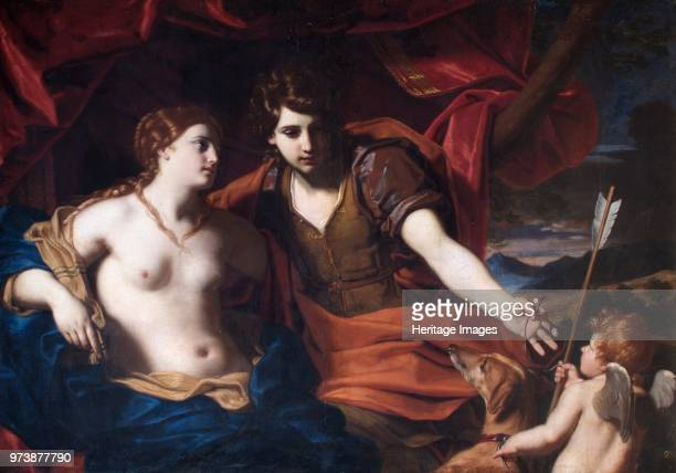 Venus and Adonis' circa 1700circa 1710 Painting in Apsley House London from the Spanish Royal Collection captured by the Duke of Wellington at...