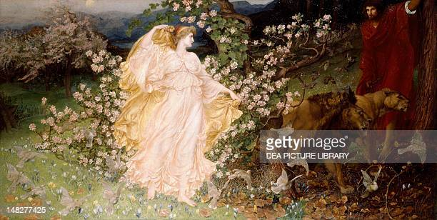 Venus and Anchises by William Blake Richmond Liverpool Walker Art Gallery