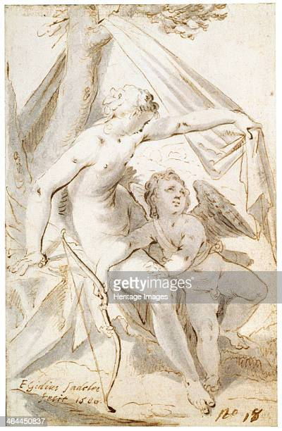 'Venus and Cupid' 1600 According to Roman Mythology Cupid was the son of Venus the goddess of love and Mars the god of war Found in the collection of...