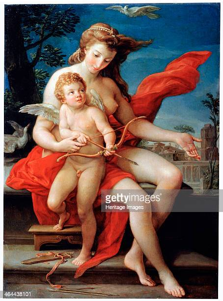 'Venus and Cupid' 1785 According to Roman Mythology Cupid was the son of Venus and Mars Found in the collection of the State Museum Arkhangelskoye...