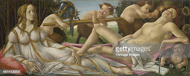 Venus and Mars ca 1485 Found in the collection of the National Gallery London