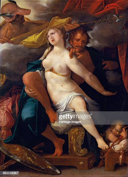 Venus and Mars warned by Mercury ca 1586 Found in the collection of the Art History Museum Vienne