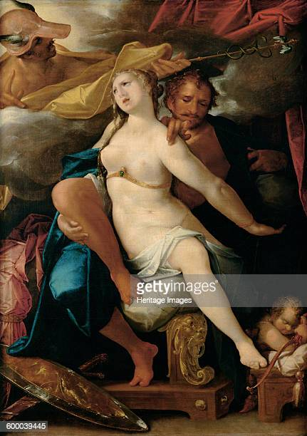 Venus and Mars warned by Mercury ca 1586 Found in the collection of Art History Museum Vienne Artist Spranger Bartholomeus