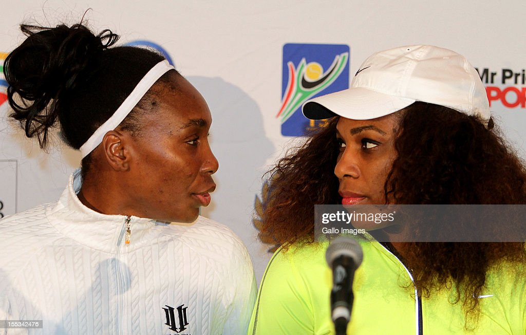 b3a329e8907 Serena and Venus Williams Breaking the mould project press conference    News Photo