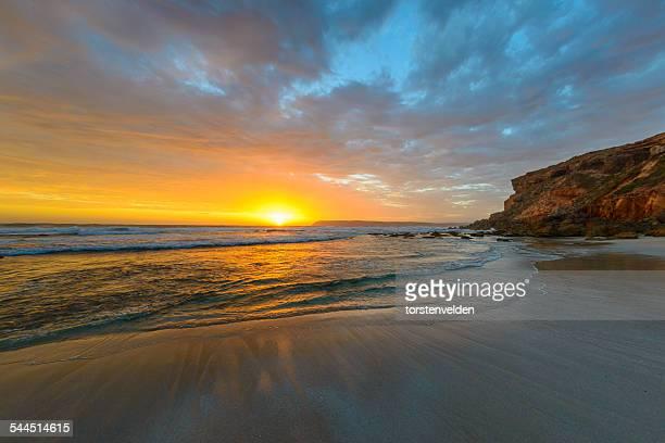 Venus Bay at sunset, Victoria, Australia