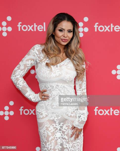 Venus BehbahaniClark during a Real Housewives of Melbourne Season 4 Media Opportunity on November 22 2017 in Sydney Australia