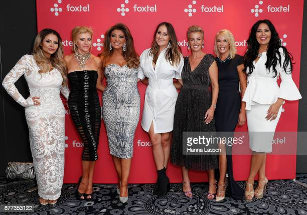Venus BehbahaniClark Gamble Breaux Gina Liano Lydia Schiavello Sally Bloomfield Jackie Gillies and Janet Roach arrive at a Real Housewives of...