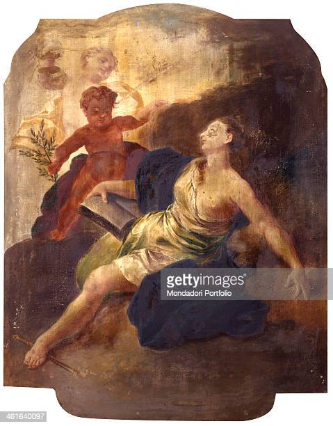 Venus by Unknown Lombard Artist 18th Century tempera on canvas Italy Lombardy Milan Castello Sforzesco Civic Collection of Ancient Art Whole artwork...
